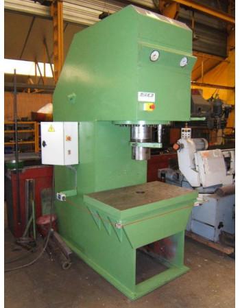 C-frame hydraulic press...